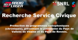 Offre Service Civique Radio Laser saison 2018-2019