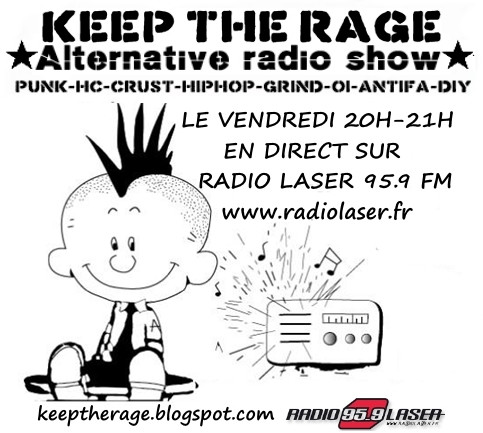 Keep The Rage #182 - Vendredi 16 septembre - Playlist et Podast