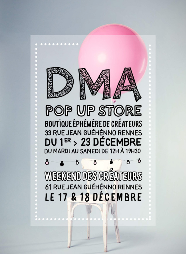 Un pop up store à Rennes