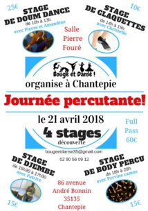 Journée percutante à Chantepie 21 avril