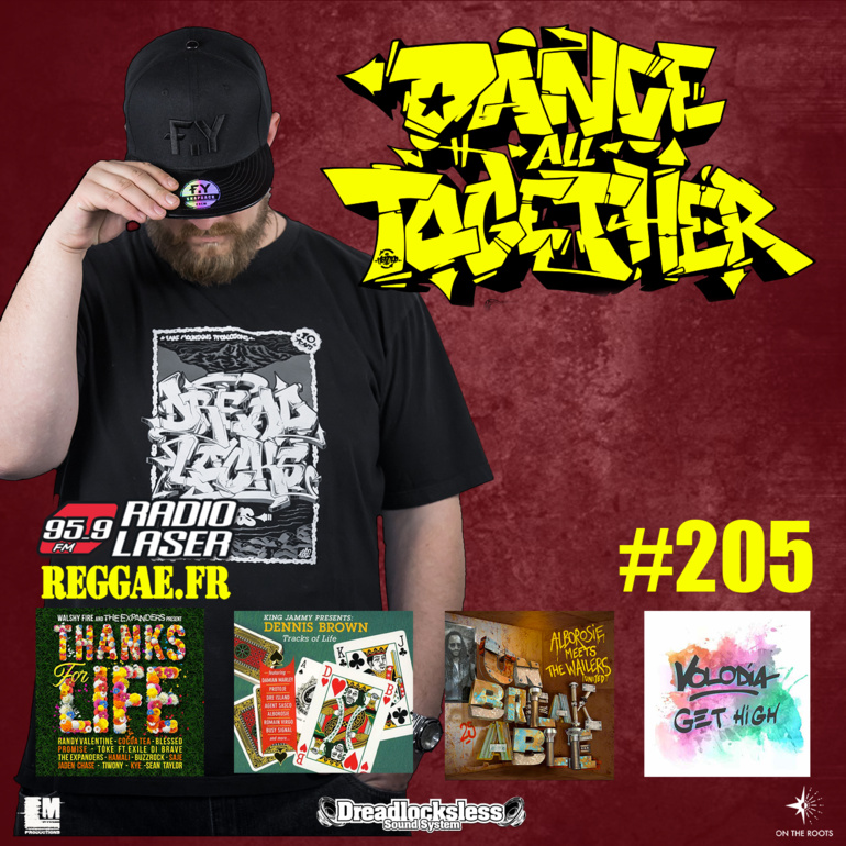 Dance All Together #205 Reggae Selection 15 octobre 2018