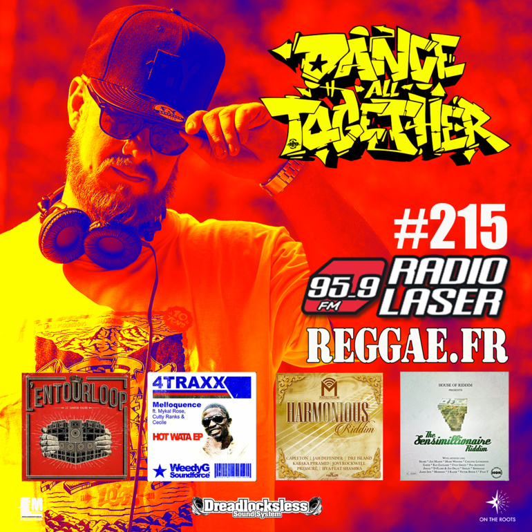 Dance All Together #215 Reggae Selection 24.12.2018