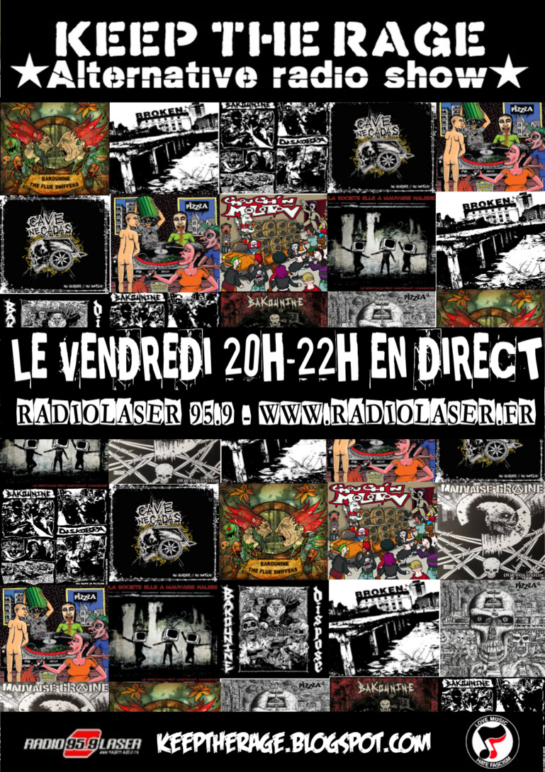 Keep The Rage #276 - Vendredi 21 décembre- Playlist et Podcast