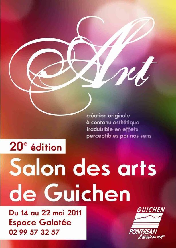 En direct du Salon des arts de Guichen!