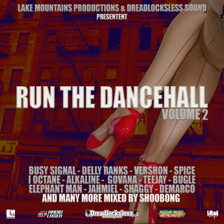 "Dance All Together #227 Mixtape promotion ""RUN THE DANCEHALL VOL.2"""