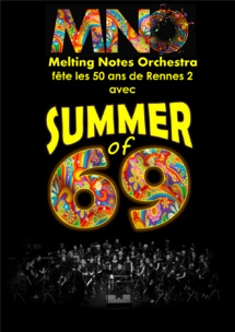 Melting Notes Orchestra : Summer of 69