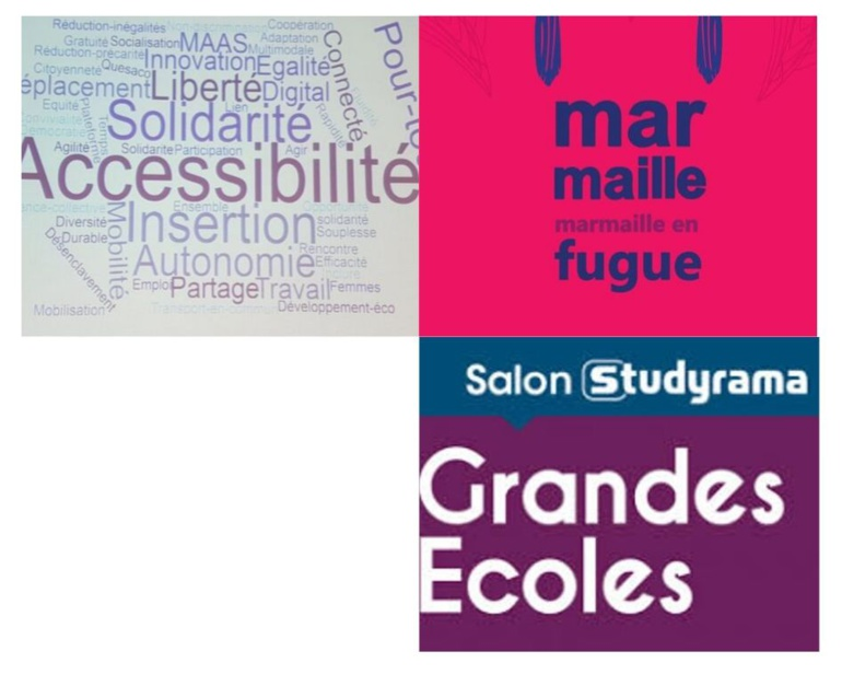 Intitiatives solidaires, festival Marmaille et salon d'orientation Studyrama
