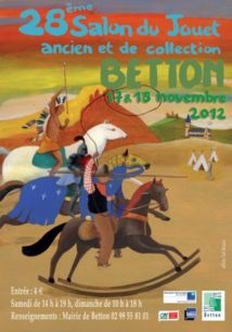 Salon du jouet à Betton ce week-end