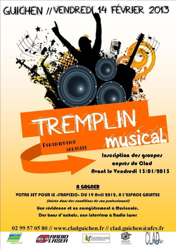 TREMPLIN Musical 2013