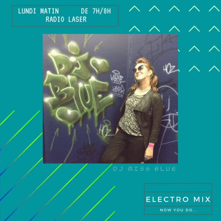 Miss Blue, podcast Electro Mix