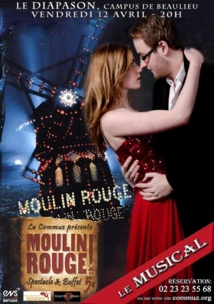 Le Diapason se change en Moulin Rouge vendredi soir!