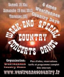Les West Rennes Country Days reviennent en mai