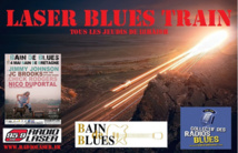 """Bain de Blues"" s'invite dans le ""Laser Blues Train"""