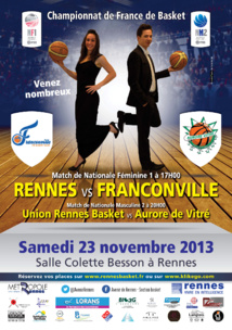 Rennes Volley 35 : relancer la machine contre Saint-Quentin et Montpellier !