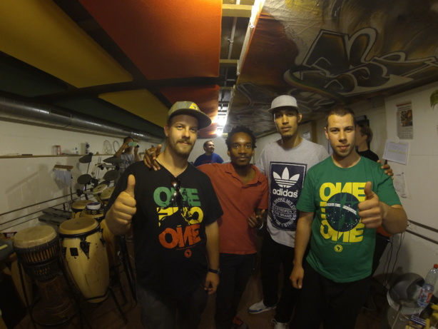"""Dance All Together 23 juin 2014 - Guest """"KINGPIN & ROOTWORDS"""""""