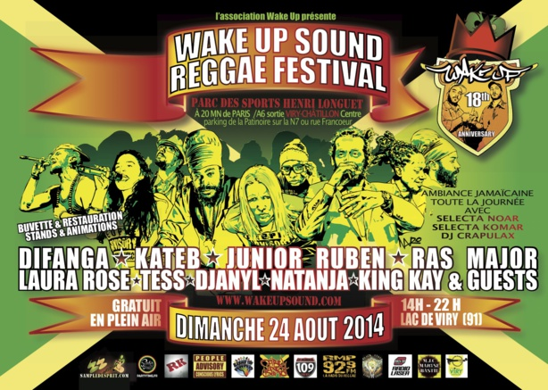 WAKE UP SOUND REGGAE FESTIVAL part1