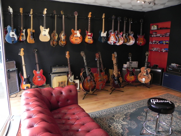 La boutique Vintage guitars