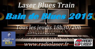 "Laser Blues Train #110  ""Special Bain de Blues"""