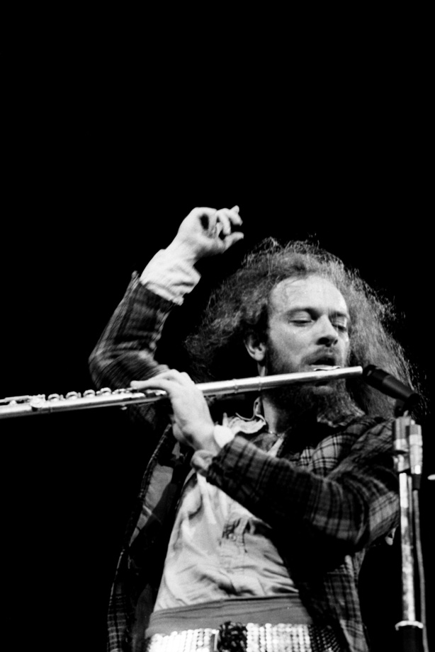 Ian Anderson des Jethro Tull. Juste énorme !