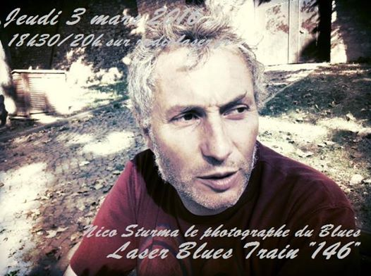 Laser Blues Train #146   18h30/20h en direct avec Nico Sturma
