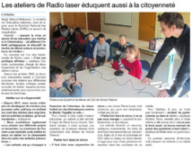 Artilce Ouest-France du 8 avril 2016