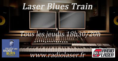 Laser Blues Train #154  en mode Dobro et bottleneck