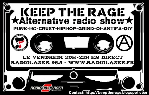 Keep The Rage #194 - Vendredi 09 décembre - Playlist et podcast