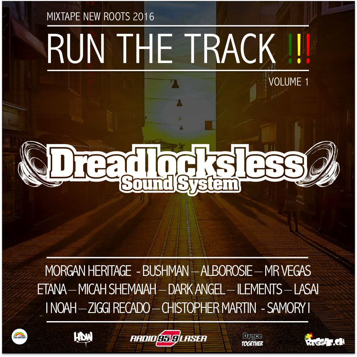 """Dance All Together #137 Promo New Mixtape """"Run The Track"""""""