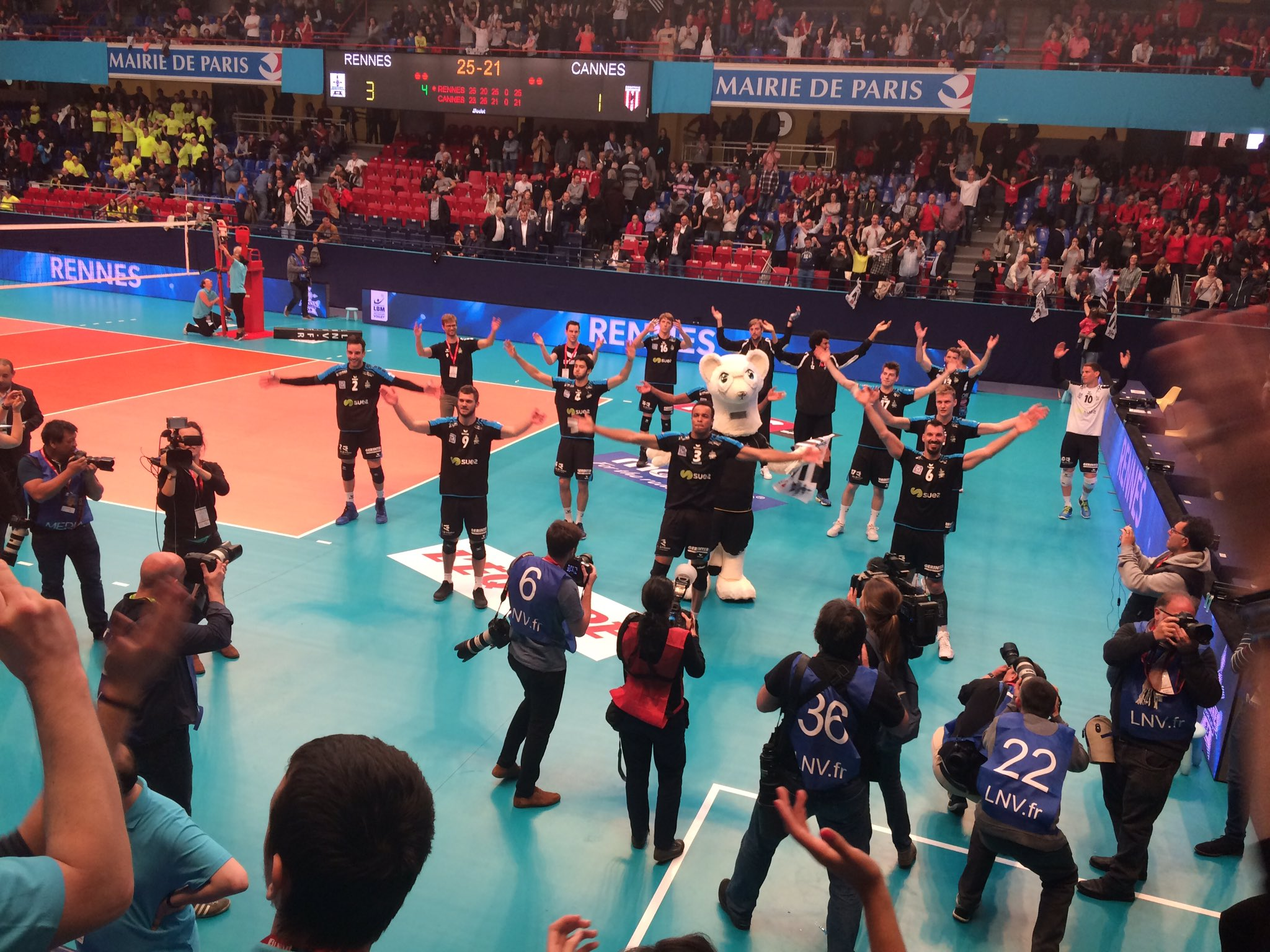 Volley - Le Rennes Volley 35 décroche son graal