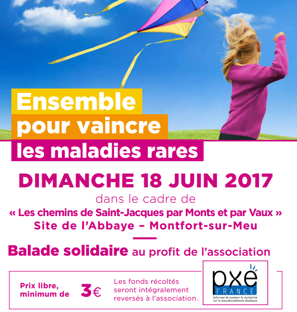 Une balade solidaire au profit de l'association PXE France
