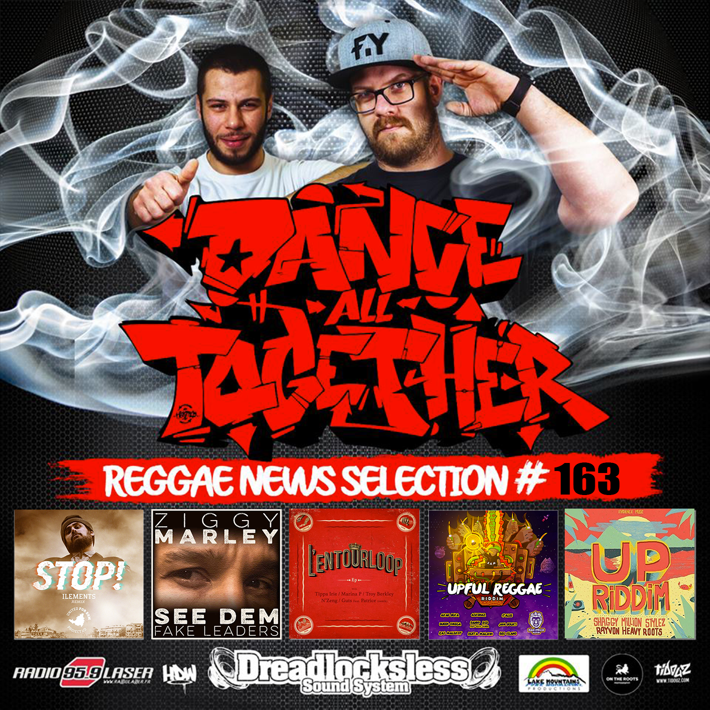 Dance All Together #163 Reggae Mix 25.09.2017