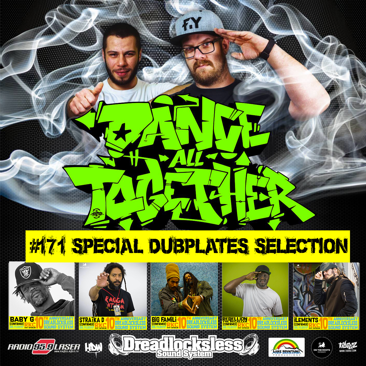 Dance All Together #171 20.11.2017 Dubplates Selection