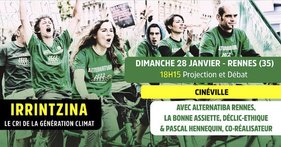Projection Ciné-débat Irrintzina
