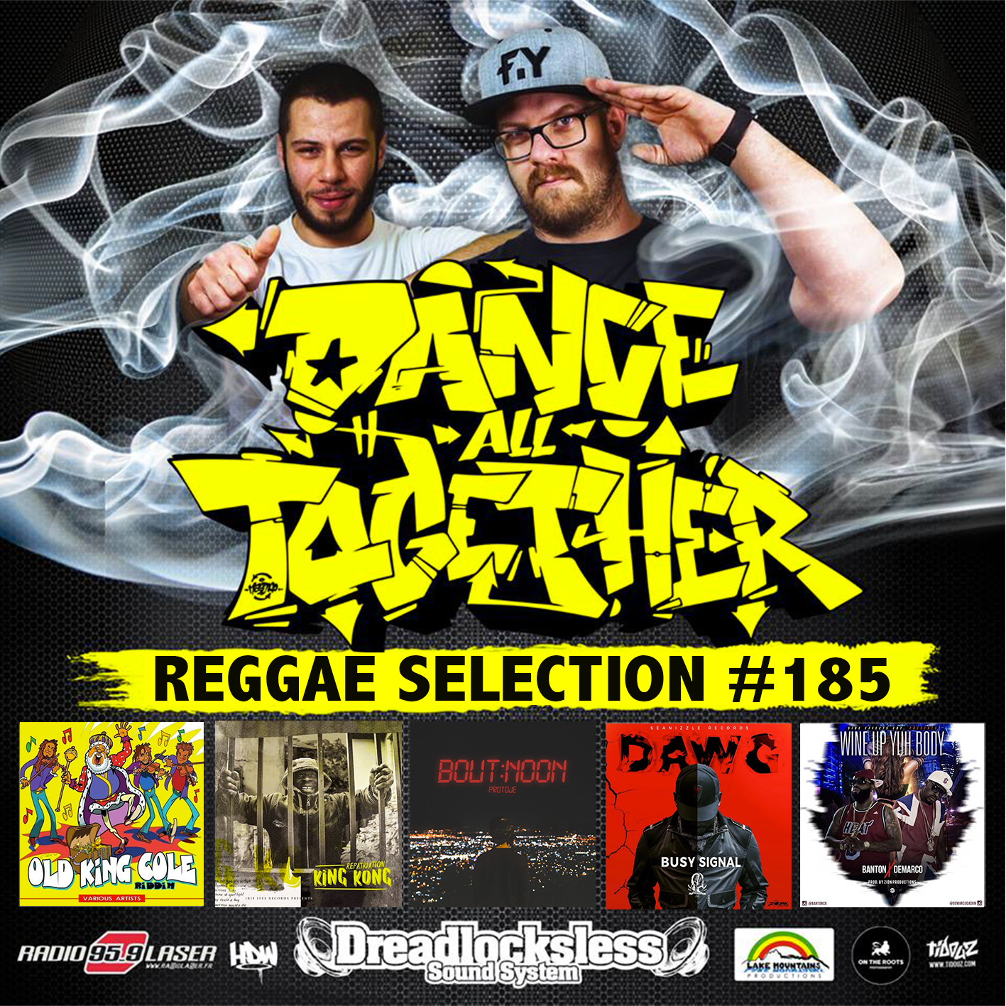 Dance All Together #185 Reggae Selection 26.02.2018