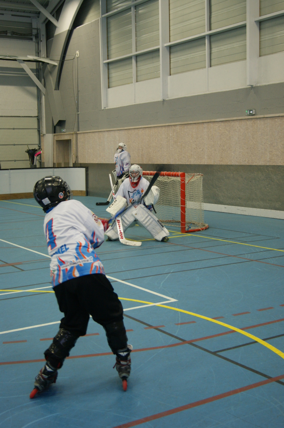 Match roller in line hockey dimanche 11 mars