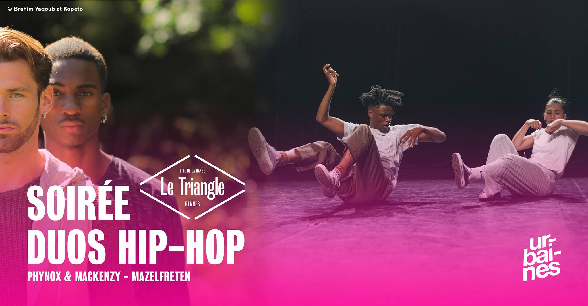 Double duo et battle de danse : week-end chargé au Triangle