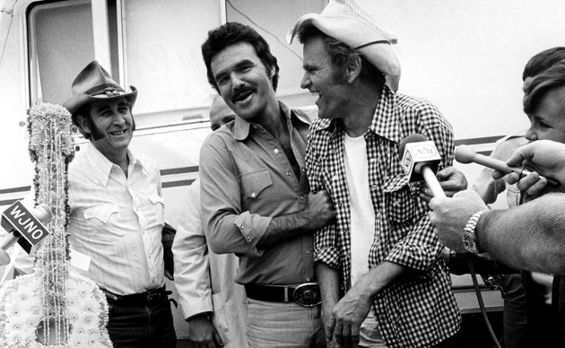 DON WILLIAMS, BURT REYNOLDS AND JERRY REED