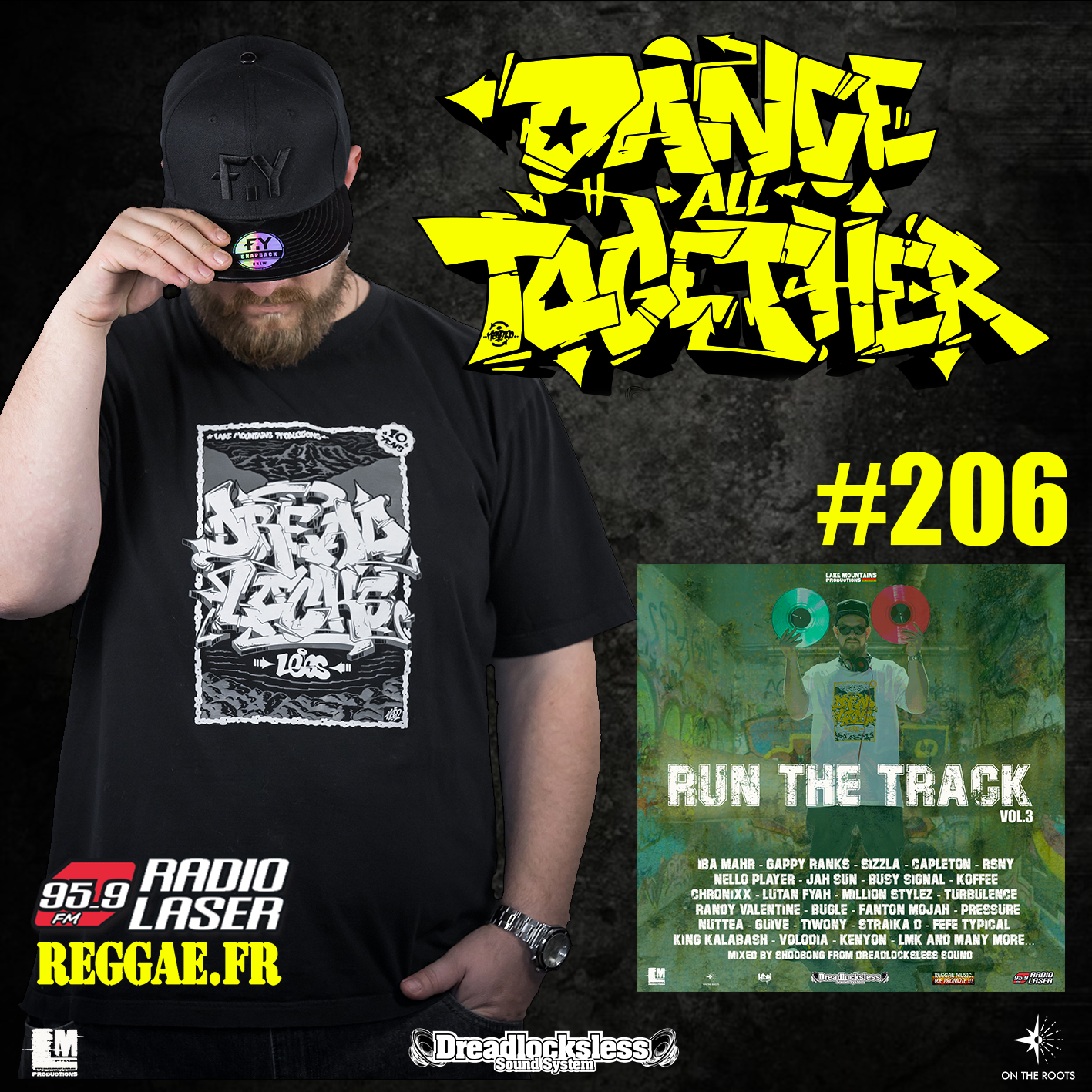 "Dance All Together #206 Promotion Mixtape ""Run the Track Vol.3"""
