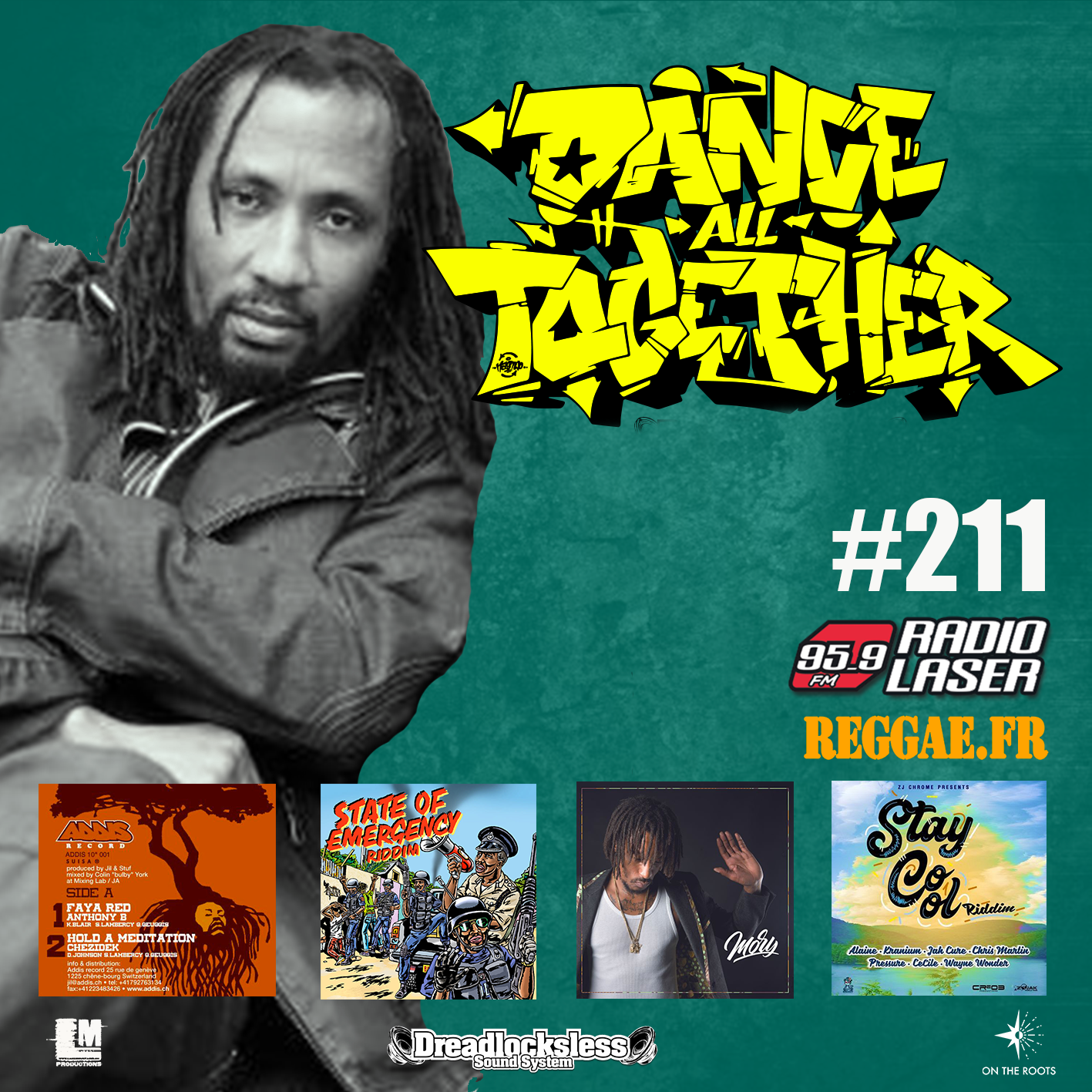 Dance All Together #211 Guest : PRINCE THEO (JA) 26.11.2018