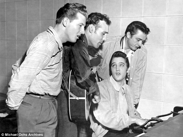 THE MILLION DOLLAR QUARTET