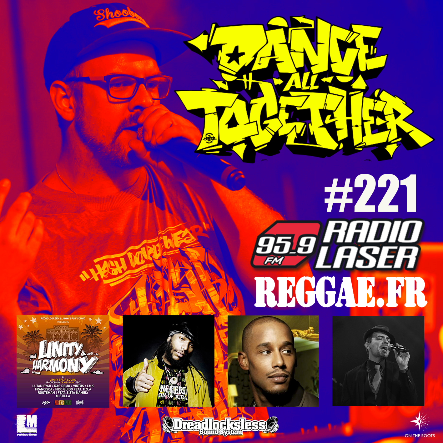 Dance All Together #221 Reggae Selection 04.02.2019