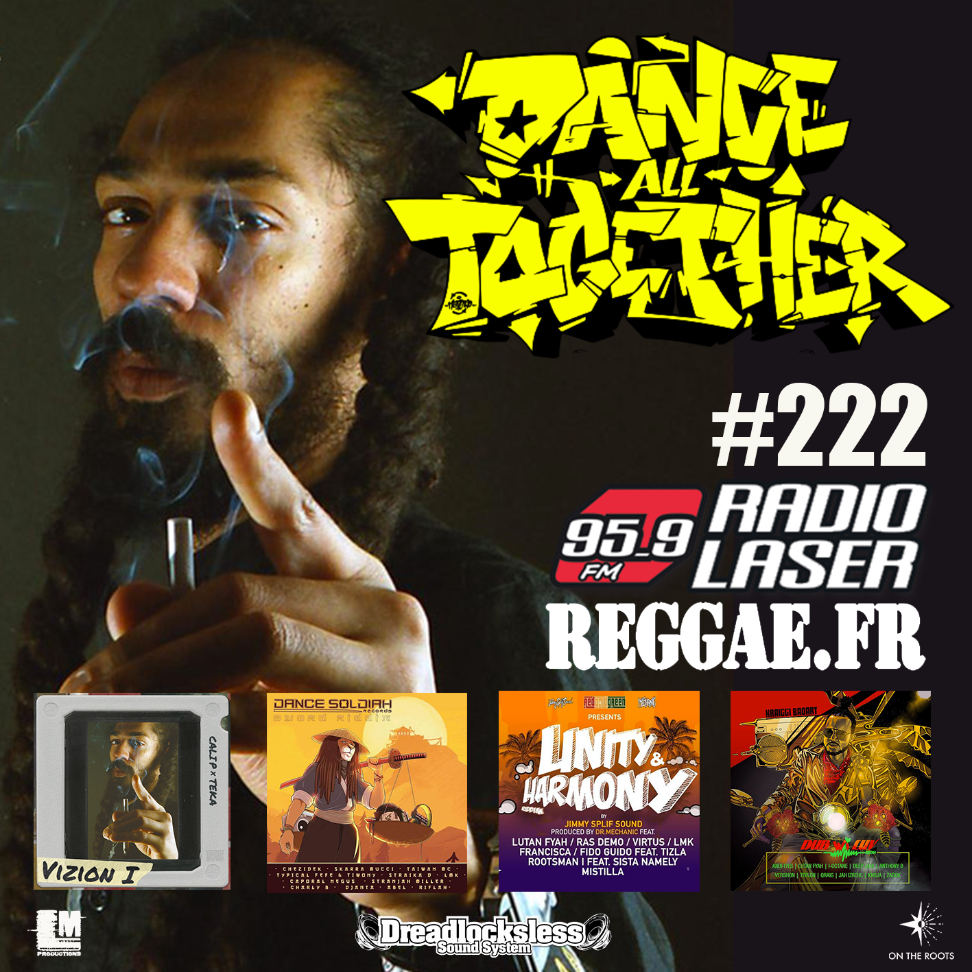 Dance All Together #222 Guest: CALI P 11.02.2019