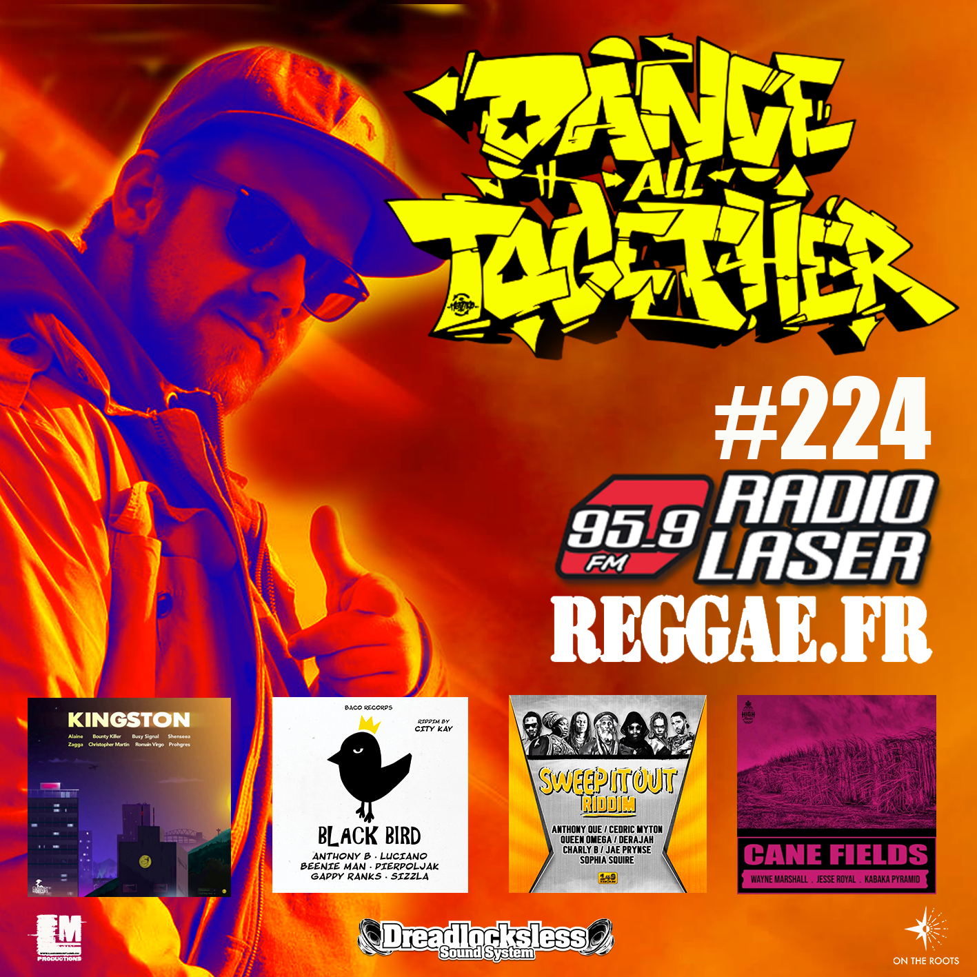 Dance All Together #224 Reggae Selection 25.02.2019