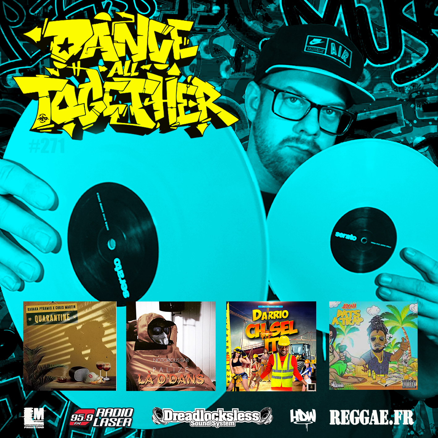 Dance All Together #271 Reggae Selection 06.04.2020