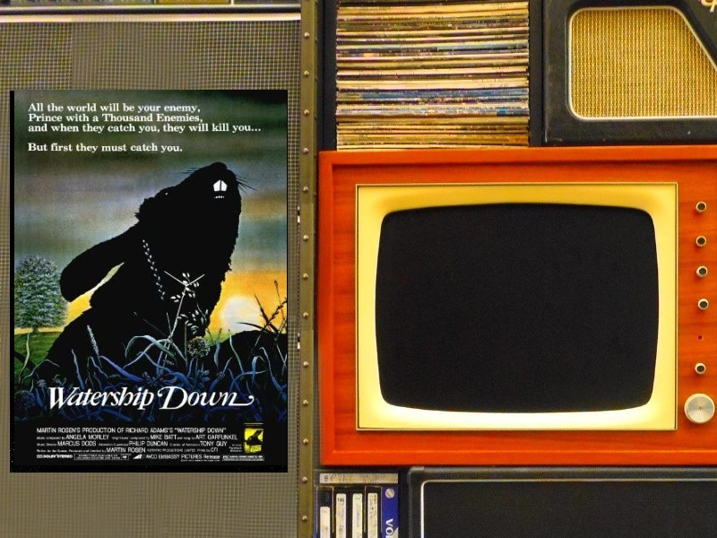 Couvre-Film #30 Watership Down (La Folle Escapade)