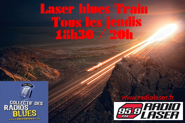 Bob Lanza Blues Band dans le Laser Blues Train