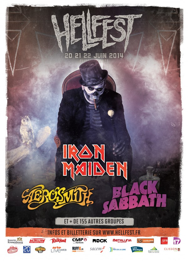 Let's Rock to the Hellfest today !!