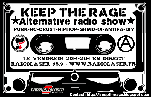 Keep The Rage du vendredi 03 octobre: Playlist et Podcast