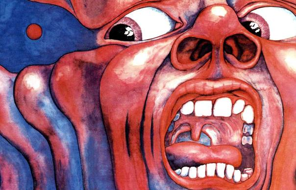 "King Crimson, une pochette du gabarit des Dark Side of the Moon, ou du ""double blanc""."