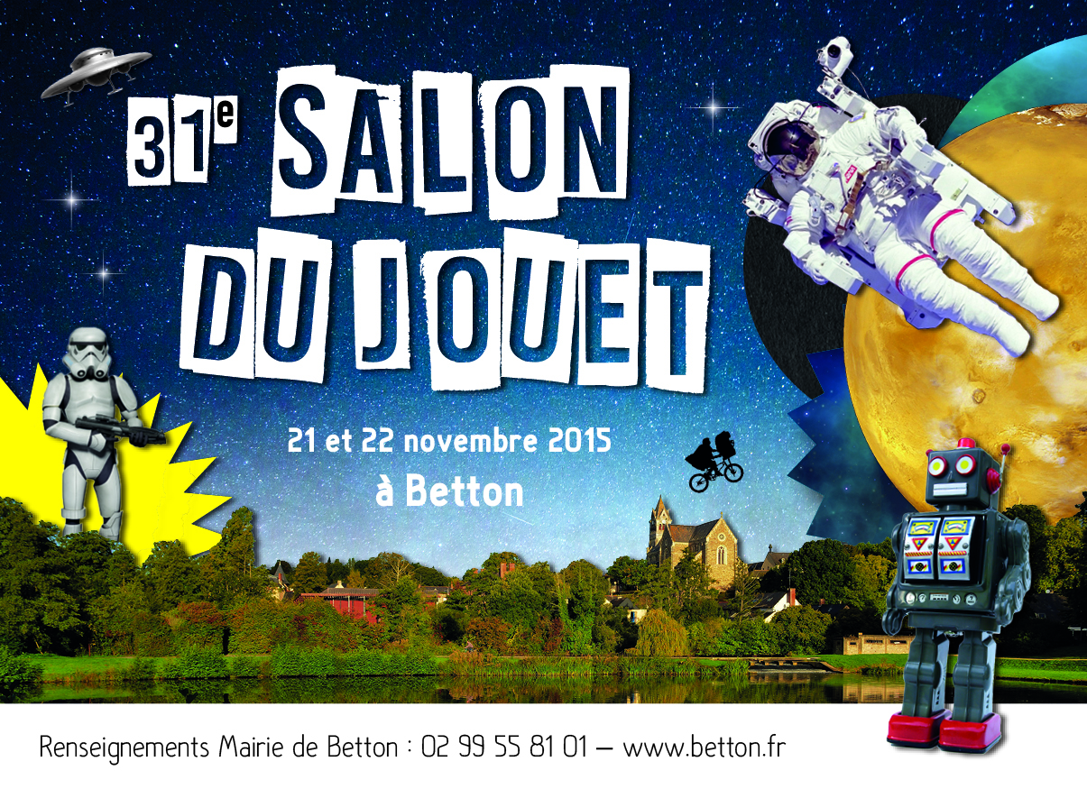 La science fiction est à l'honneur ce weekend au Salon du Jouet de Betton